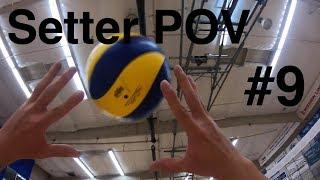 Volleyball GoPro #9: Setter POV and more stuff