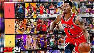 RANKING ALL OF THE BEST POINT GUARDS IN NBA 2K21 MYTEAM!! 2K21 POINT GUARDS TIER LIST!!