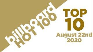 Early Release! Billboard Hot 100 Top 10 Singles  (August 22nd, 2020) Countdown