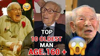 top 10 oldest age man in the world