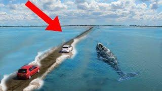 10 Most MYSTERIOUS Places That VANISH Underwater!