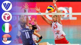 Italy vs. Serbia - Full Match | Group 1 | Women's Volleyball World Grand Prix 2016