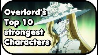 Overlord - Top 10 strongest Characters   Place 10-7
