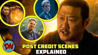 Shang-Chi Post Credit Scenes & Ending   Explained in Hindi