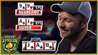 When poker gets UGLY: 5 SICK poker hands!