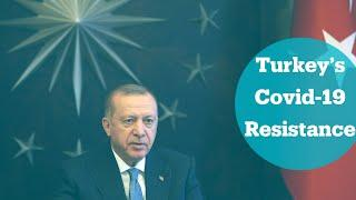 Turkey has proven it can stand strong against Covid-19 - Turkey's President Erdogan