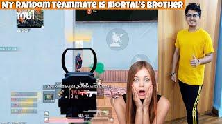 Mortal's Brother In My Team And This Happened! 18 Solo Kills | PUBG Mobile | Mr Spike