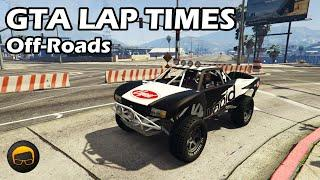Fastest Off-Road Vehicles (2020) - GTA 5 Best Fully Upgraded Cars Lap Time Countdown