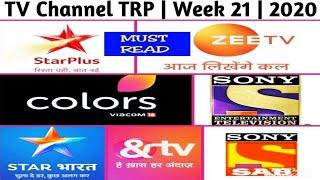Top 10 TV Channel TRP ( Urban ) | Week 21 | 2020