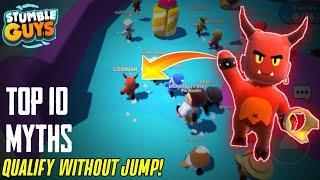 Top 10 Myths In Stumble Guys | Stumble Guys Mythbusters | Stumble Guys | Godrush Gaming