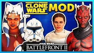 Star Wars Battlefront 2 The CLONE WARS: Top 10 Mods Showcase