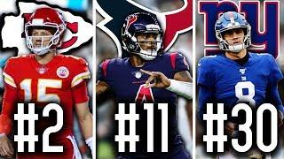 Ranking The Best Quarterbacks from Every NFL Team