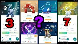Top 10 Strongest Legendary Pokemon In Pokemon Go   Best Movesets And Best For PvP   Pokemon Go Hindi