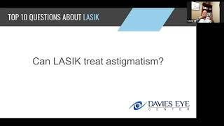 Davies Eye Center Top 10 Questions about LASIK Can LASIK Treat Astigmatism