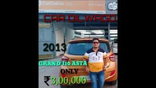 Hyundai Grand I10 Asta Top Model For Sale |  Second Hand MArket In Delhi NCR | Car Dilwado