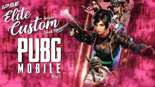 PUBG Mobile Live India | IPSe ELITE CUSTOMS | Final Day  | Team IPSe | Titanium gaming