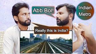 Pakistani Reaction on Top 10 Metro System in India | Shocking