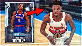 *NEW* DIAMOND DENNIS SMITH JR. GAMEPLAY!! | The MOST UNDERRATED Point Guard In NBA 2k20 MyTEAM...