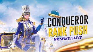 Let's Go TOP 10 | Aim Assist OFF | Conqueror | PUBG Mobile | Mr Spike