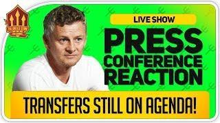 Solskjaer Press Conference Reaction! Manchester United vs Manchester City