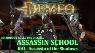 DEMEO - 1-4 PLAYER ONLINE GAMEPLAY - KAI - ASSASSIN SCHOOL - Top 10 GAMEPLAY TIPS - COIN TOSS KILLER