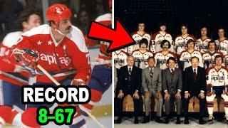 Worst NHL Teams Of All Time Ranking The Top 10 Biggest Losers
