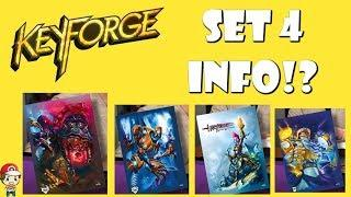New Keyforge Expansion Name and Information Revealed / Leaked! (Wave 4 Name, Houses and Art)