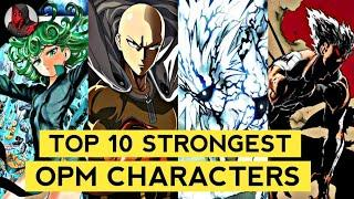 Top 10 Most Powerful One Punch Man Characters || Explained in Hindi || SUPER NERD