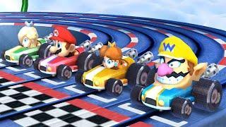 Mario Party The Top 100 MiniGames - Mario Vs Luigi Vs Daisy Vs Princess Peach (Master Cpu)