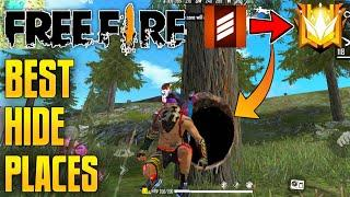 New Top 5 Hiding Places / Hidden Place Garena Free Fire by TAMIL FREE FIRE TRICKS