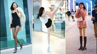 [抖音/douyin]Tik Tok China fashion on the street TOP 10|She stand here!
