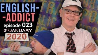 English Addict Live Lesson - 3rd January 2020 - Public Transport Words - Modes of Travel