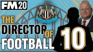FM20 NEWCASTLE 10 | NORWICH || DIRECTOR OF FOOTBALL CHALLENGE || Football Manager 2020