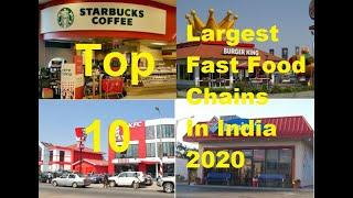 Top 10 Largest Fast Food Chains In India 2020 | The Glaring Quality