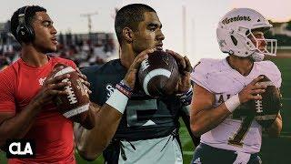 Top High School Quarterbacks | DJ Uiagalelei, Bryce Young, CJ Stroud+ | Best HS QB Passes of 2019