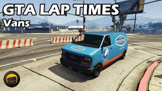 Fastest Vans (2020) - GTA 5 Best Fully Upgraded Cars Lap Time Countdown