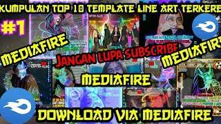 KUMPULAN TOP 10 TEMPLATE LINE ART AVEE PLAYER KEREN!!|JANGAN LUPA SUBSCRIBE! FREE DOWNLOAD!!! #1