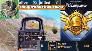 Asia #5 Intense Fights In Conqueror Lobby | PUBG Mobile | Mr Spike