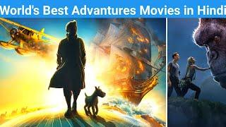 Top 10 Best Adventure Movies in Hindi Dubbed | All Time Hit Adventure Movies| movies bolt