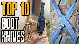Top 10 Best Boot Knives For Self Defense