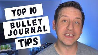 Top 10 Bullet Journal Tips | Getting Started As A Bujo Beginner