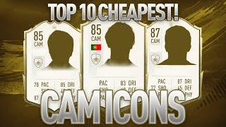TOP 10 CHEAPEST ICON CAMs FOR YOUR SQUAD - FIFA 20 ULTIMATE TEAM