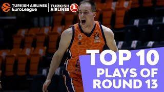 Turkish Airlines EuroLeague Regular Season Round 13 Top 10 Plays