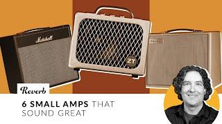 6 Small Guitar Amps That Sound Great   Reverb Tone Report