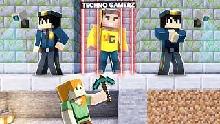 SAVING TECHNO GAMERZ FROM JAIL | MINECRAFT