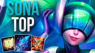 CHALLENGER SONA TOP MAIN! | CHALLENGER SONA TOP GAMEPLAY | Patch 10.2 S10