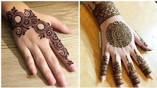 Top 10 Mehndi Design collections For Backhand 2020 | Front or back hand top mehndi design