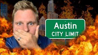 Massive PROBLEMS In The Austin Texas Market!