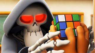 Spookiz | Solve the Puzzle - Rubik's Cube | Spooky Cartoons | WildBrain Cartoons