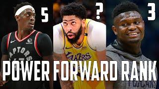 OFFICIAL Top 10 Power Forwards In The NBA Right Now...